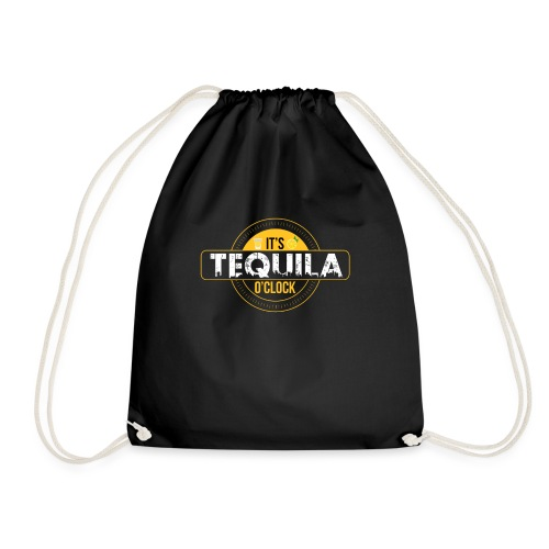 Tequila time - Drawstring Bag
