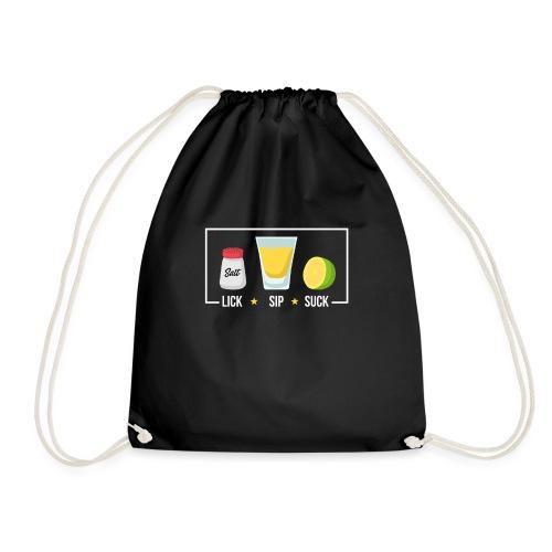 Tequila - Lick Sip Suck - Drawstring Bag