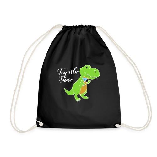 Tequila sour - dinosaur - Drawstring Bag