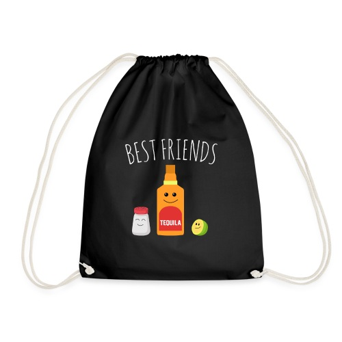 Best Friends - Tequila - Drawstring Bag