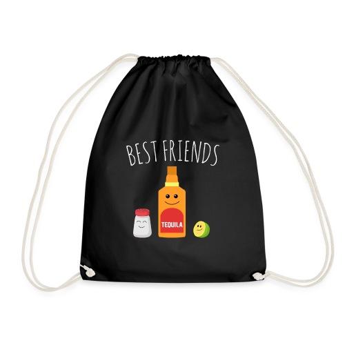 Best Friends - Tequila - Drawstring Bag