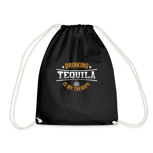 Tequila therapy - Drawstring Bag