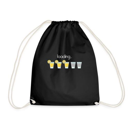 Tequila shots loading - Drawstring Bag