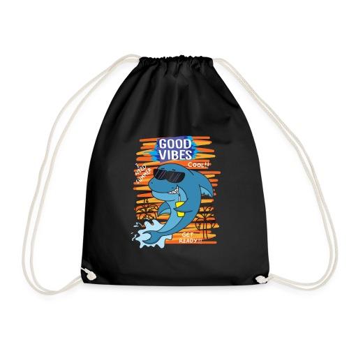 cool shark - Turnbeutel