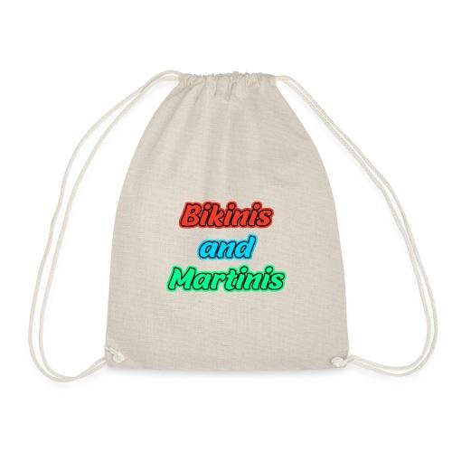 Bikinis & Martinis - Turnbeutel