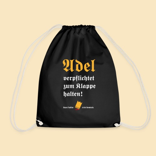 Adel verpflichtet - Turnbeutel
