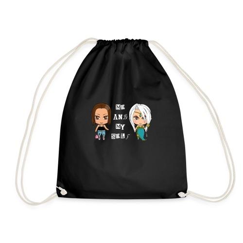 Me and my self - Drawstring Bag