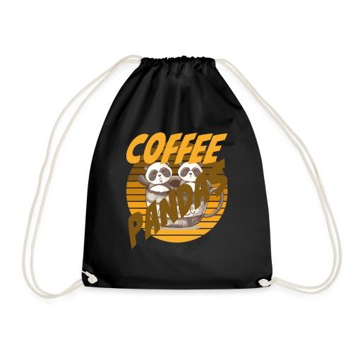 Coffee Pandas Coffee Color Zwei Pandas Kaffeetasse - Turnbeutel