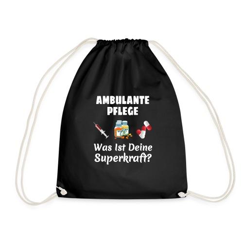 Ambulante Pflege T-Shirt Für Frauen Krankenpflege - Turnbeutel