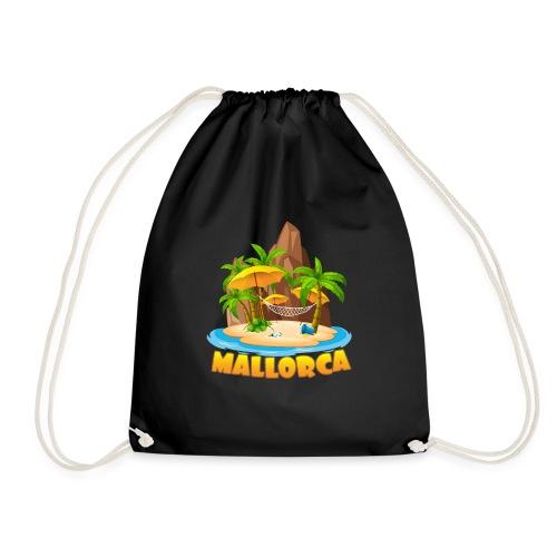 Mallorca - schau wie schön die Insel ist! - Turnbeutel