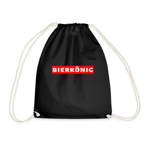 Bierkönig Trendy Design - Turnbeutel