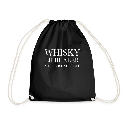 Whisky Liebhaber mit Leib und Seele - Turnbeutel