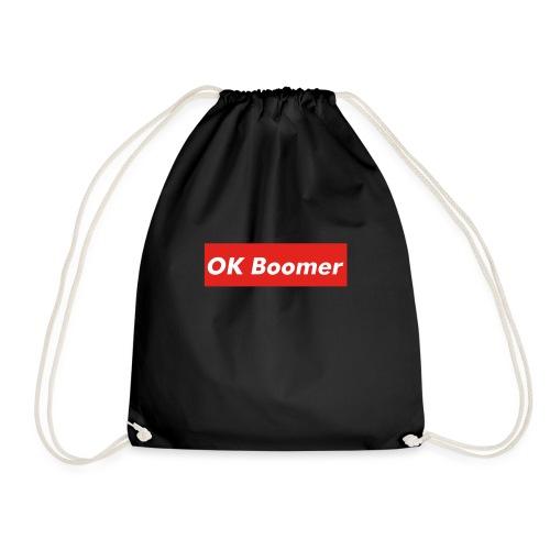 OK Boomer Meme - Drawstring Bag