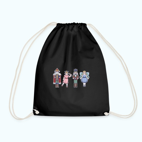 Fairy tale characters hand drawing - Drawstring Bag