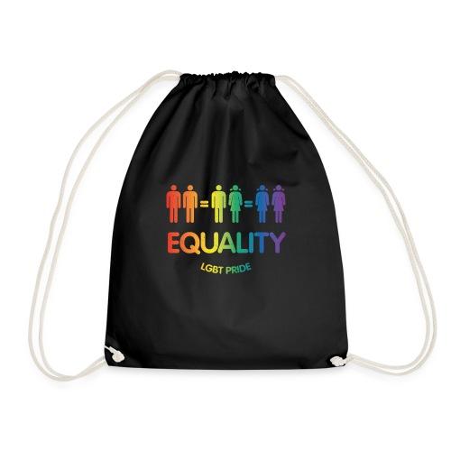 Pride Equality Logo Schwul Lesbisch LGBT Design - Turnbeutel