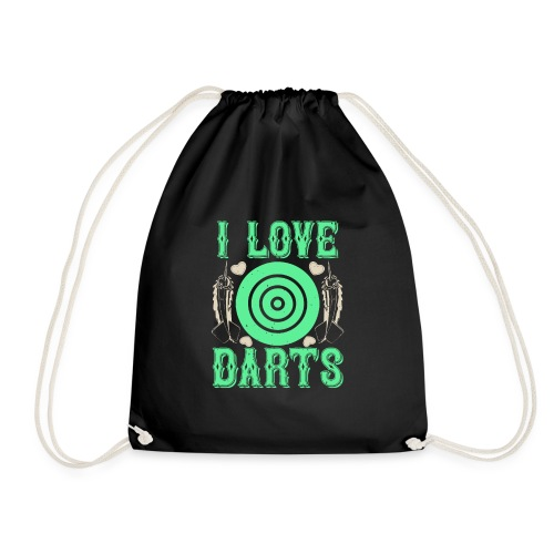 I Love Darts - Gymtas