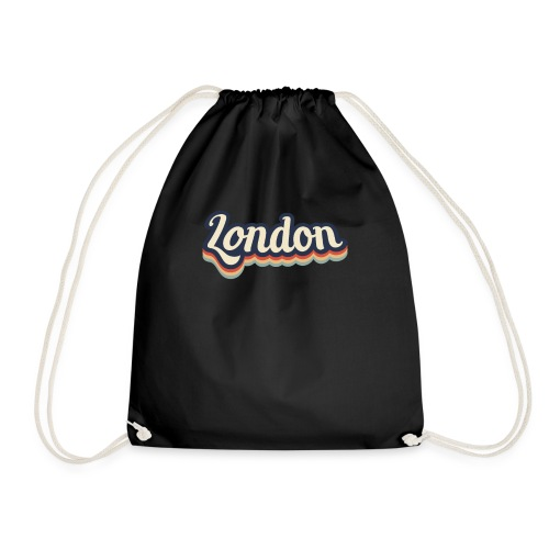 Vintage London Souvenir - Retro London - Turnbeutel