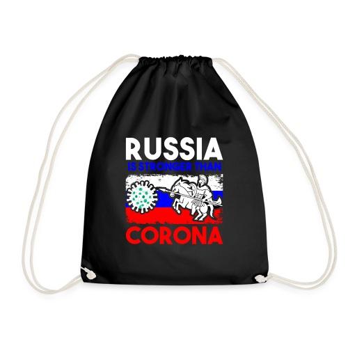 Russia against Corona - Turnbeutel