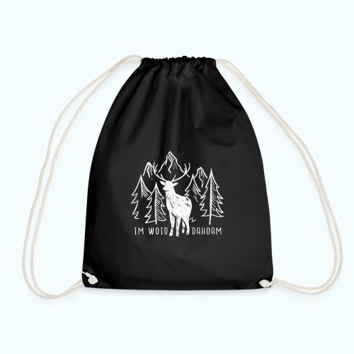 Dahoam Im Woid - Drawstring Bag