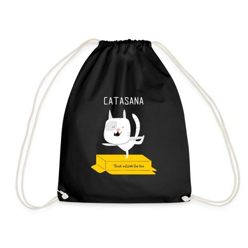 illustrated t shirt design CATASANA - Sacca sportiva