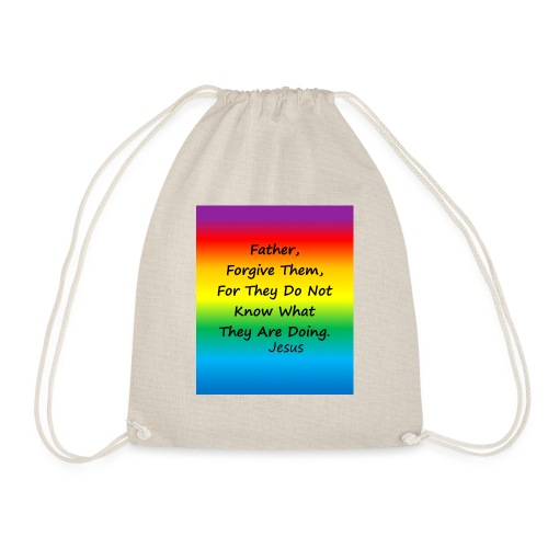Forgive - Drawstring Bag