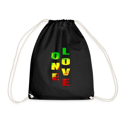 One Love Beautiful Rasta colours for Rastafarian - Sac de sport léger