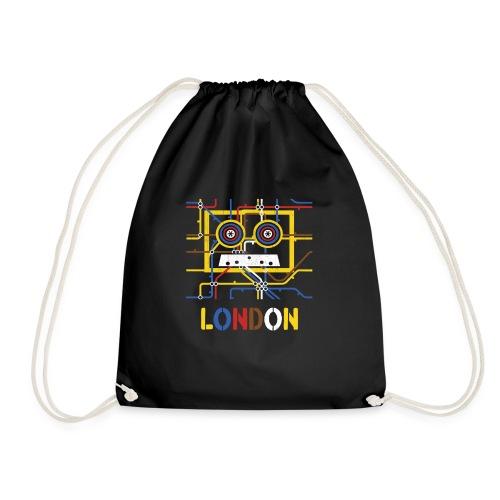London Tube Map Underground - Turnbeutel