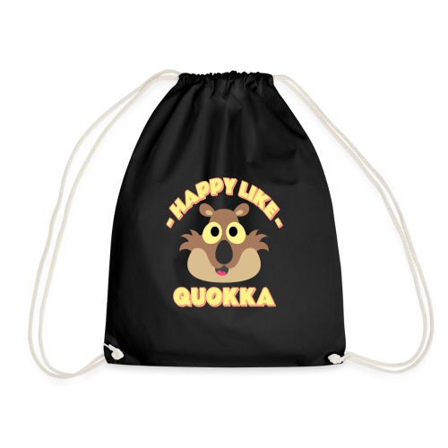 Happy like a quokka - Animal, love cute quokka - Sac de sport léger