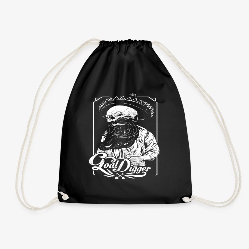 Cool Digger - Drawstring Bag