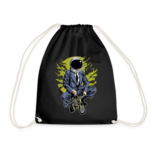 MOND RADLER - Kosmonauten Radfahrer Geschenk Shirt - Turnbeutel