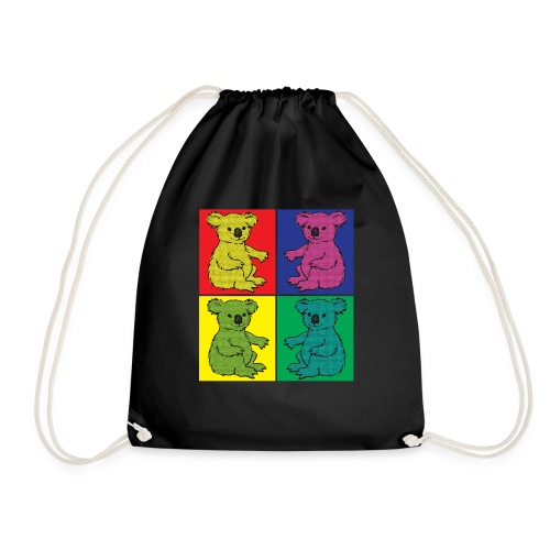 Pop Art Koala - Turnbeutel