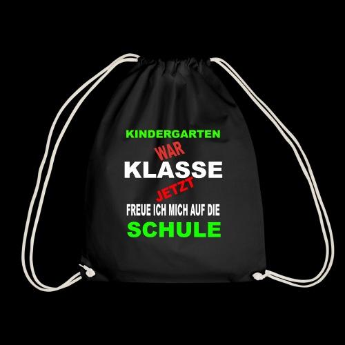 Kindergarten war klasse - Turnbeutel