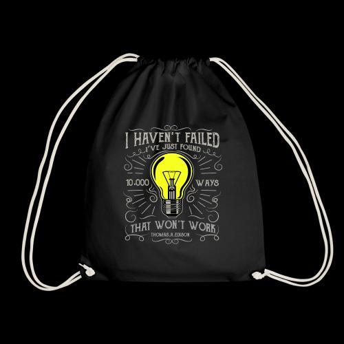 I haven't failed - Turnbeutel