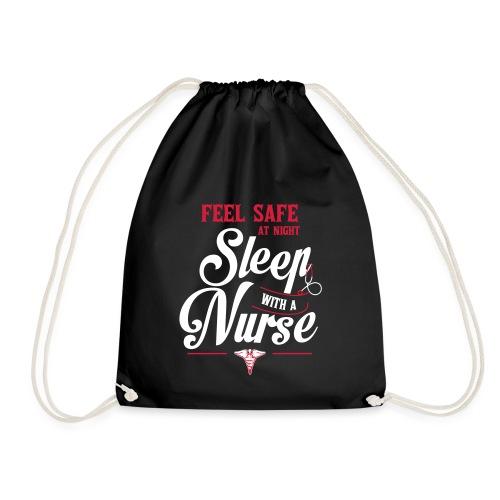 Feel safe at night, sleep with a nurse - Jumppakassi