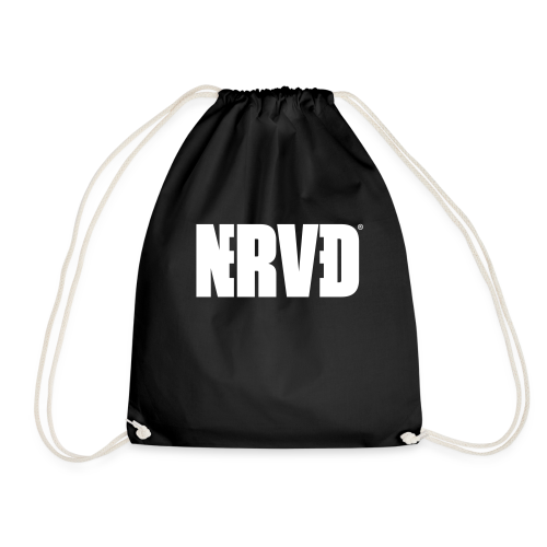 Official Nerved@ White Logotype - Drawstring Bag