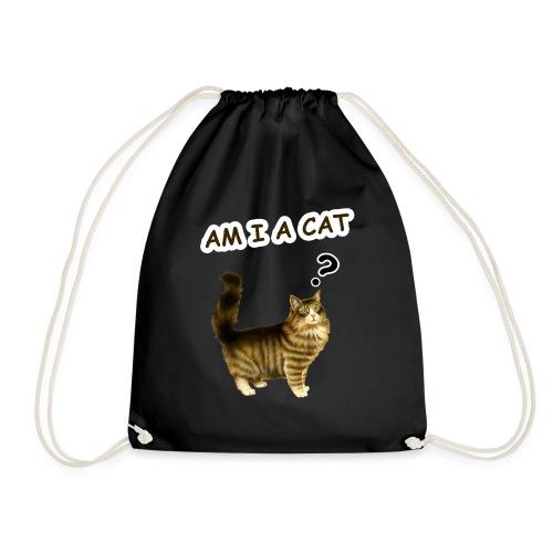 Am i a cat ? - Drawstring Bag