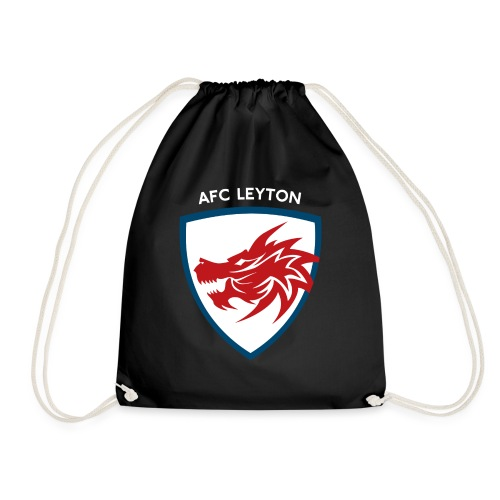 AFC Leyton Logo (White) - Drawstring Bag