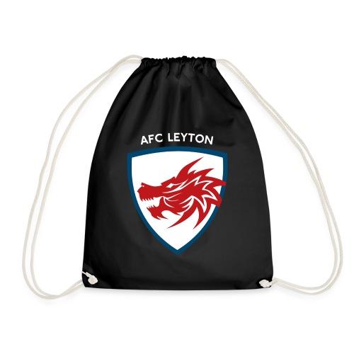AFC Leyton Logo (White) - Drawstring Bag