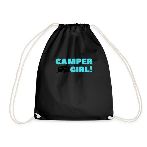 CAMPER Girl - Turnbeutel