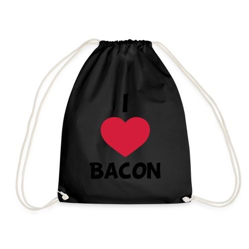 I love bacon - Sportstaske