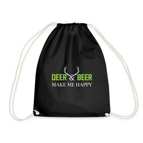Deer Beeer2 - Turnbeutel