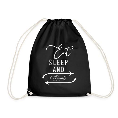 eat sleep and repeat - Gymtas