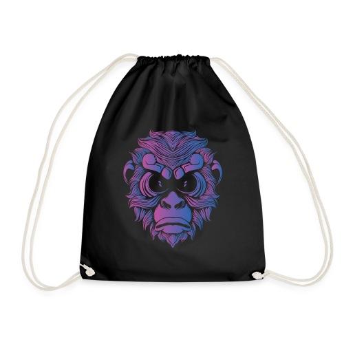 Affe Gorilla Gesicht - Turnbeutel