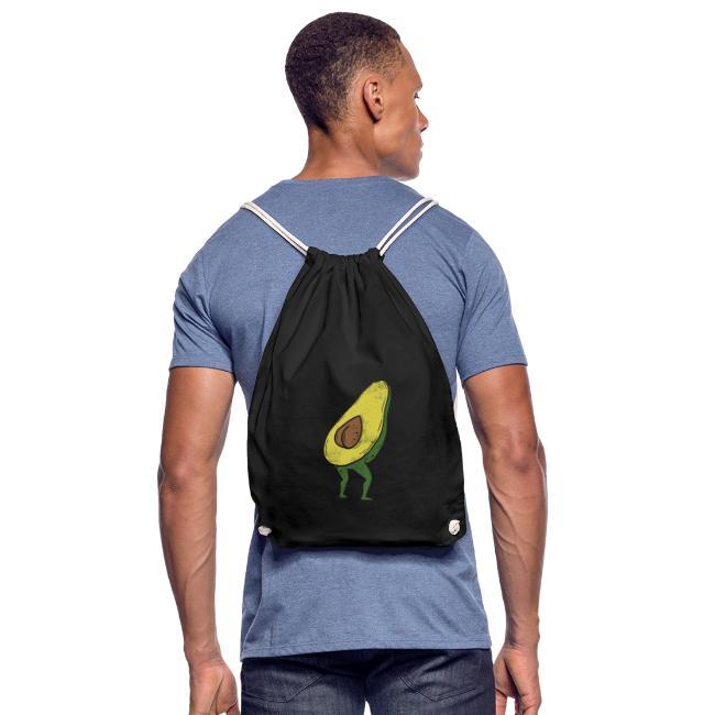 Lustige Avocado Po Frucht - Vegan Guacamole
