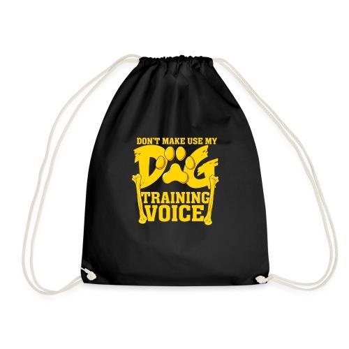 Für Hundetrainer oder Manager Trainings-Stimme - Turnbeutel