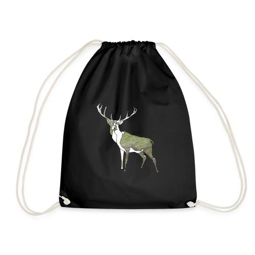 Polygon Deer - Turnbeutel