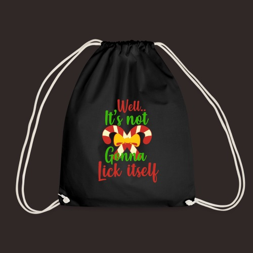 Weihnachten | lecken Zuckerstange Masche xmas - Turnbeutel