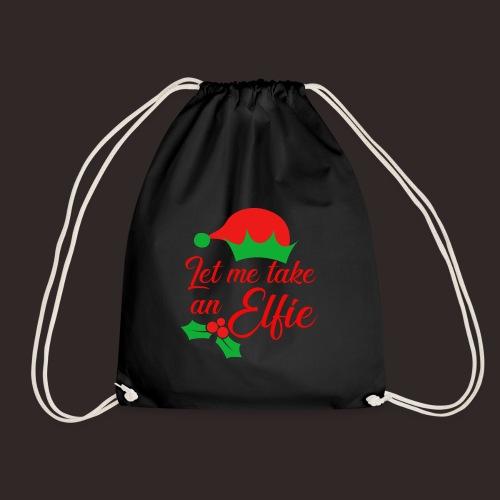Weihnachten | Elf Mütze Weihnachtself Wortspiel - Turnbeutel