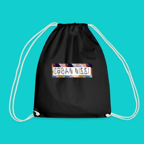 Cuban Nikki Logo - Drawstring Bag