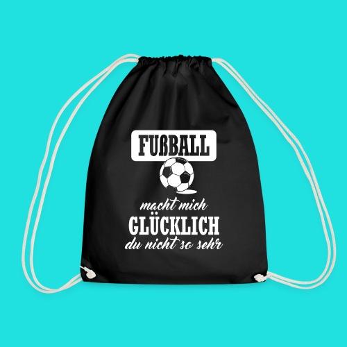 Fußball macht mich glückl - Turnbeutel